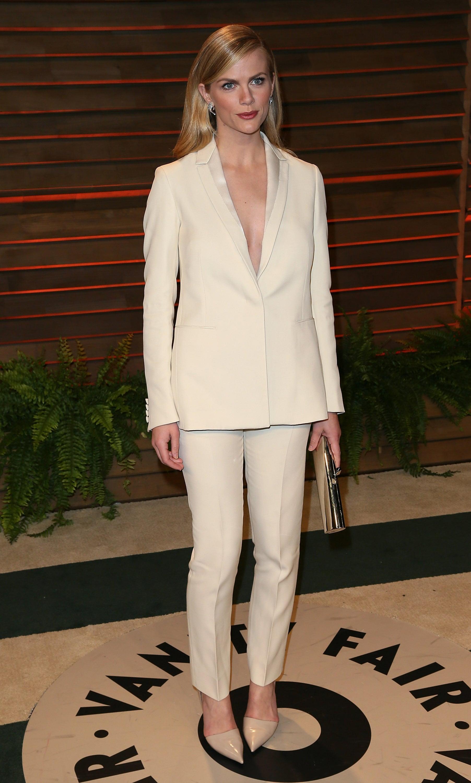 Brooklyn Decker in Calvin Klein at 2014 Vanity Fair Oscars Party