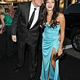 Jenna Dewan and Channing Tatum shared a laugh at an LA event in August 2009.