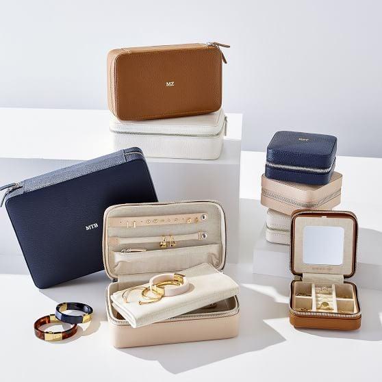 Mark & Graham Large Travel Jewelry Case