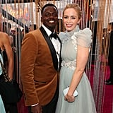 Pictured: Daniel Kaluuya and Emily Blunt