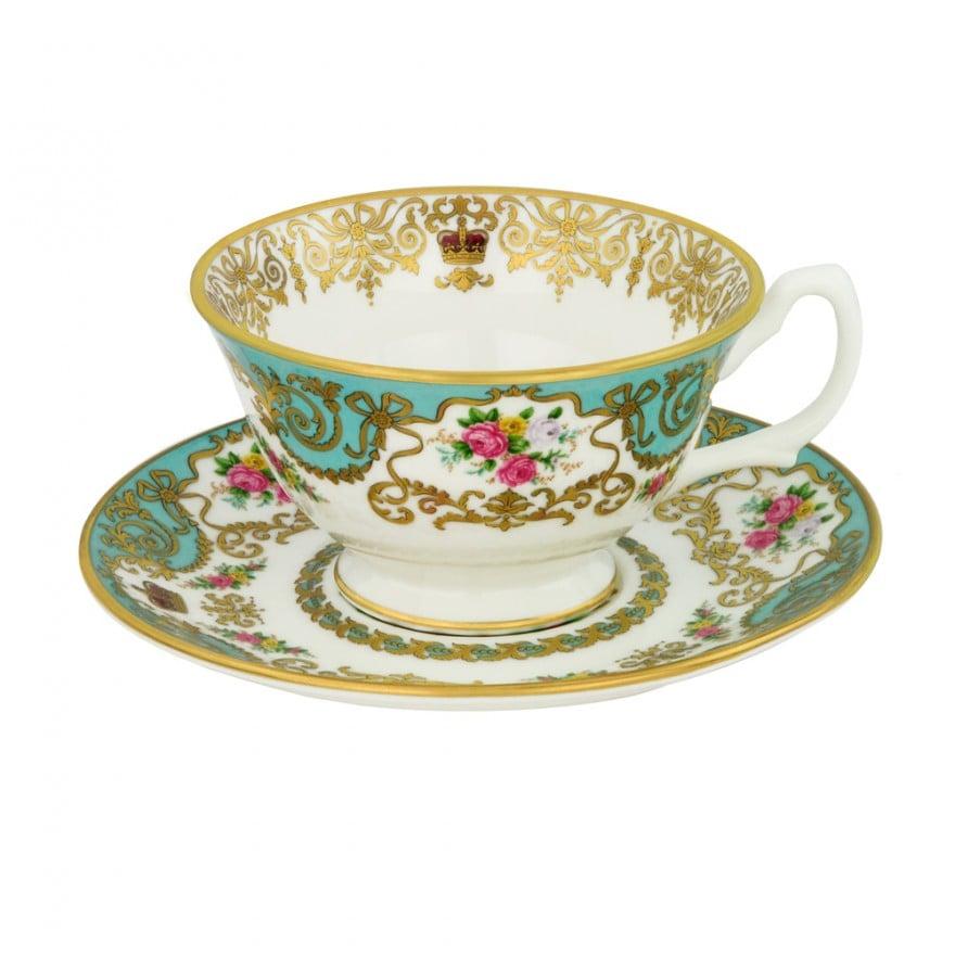 Royal Palace Teacup and Saucer ($56)