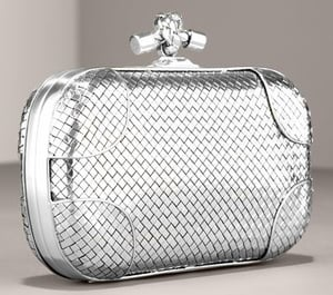 The Look For Less: Bottega Veneta Woven Clutch