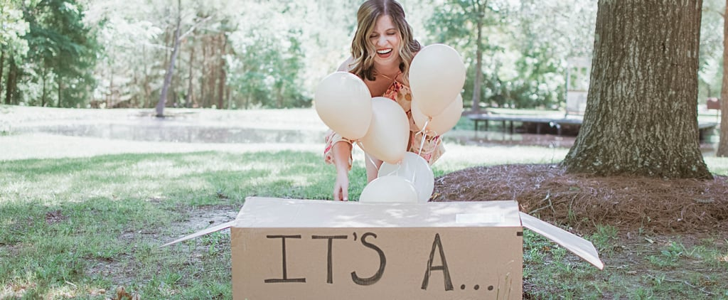 Woman Surprises Husband With Puppy Reveal Photos