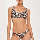 Topshop Leopard Print Bikini Set
