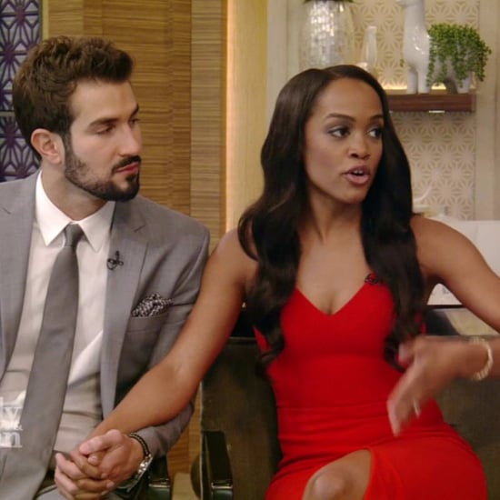 Rachel Lindsay and Bryan Abasolo on Live With Kelly and Ryan