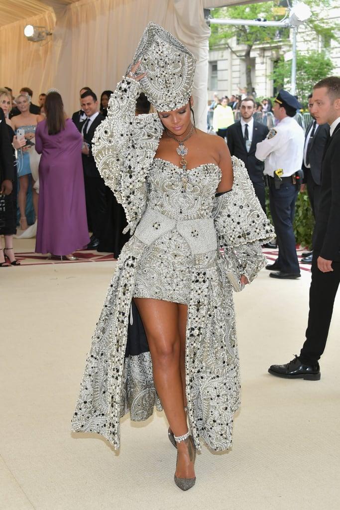 Rihanna Margiela Met Gala Dress 2018 Popsugar Fashion
