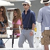 Justin Timberlake Mixes Bikinis and Beer While Filming on a Boat