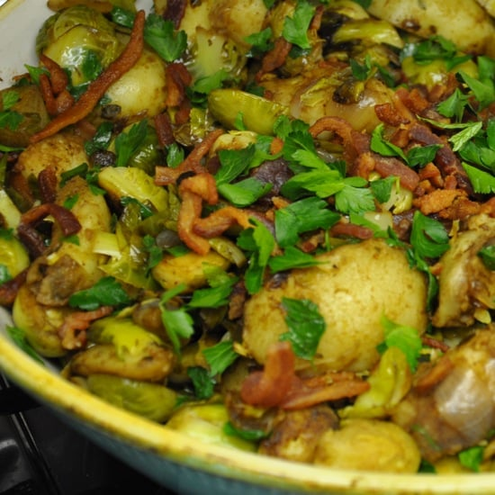 Bacon and Brussel Sprouts Hash