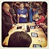 """#iPadMini #Demo"" — jungledrengen Source: Instagram user jungledrengen"