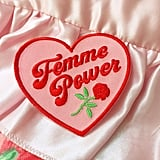 Femme Power Embroidered Patch