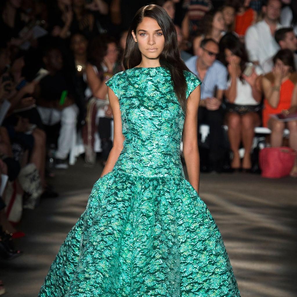 Christian Siriano Spring 2015 New York Fashion Week Runway