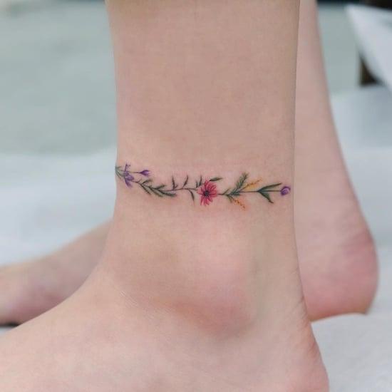 Anklet Tattoo Ideas