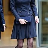 Kate wearing Max Mara in November 2013.
