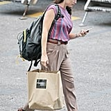 Jennifer Garner was on the New Orleans set of The Dallas Buyer's Club.