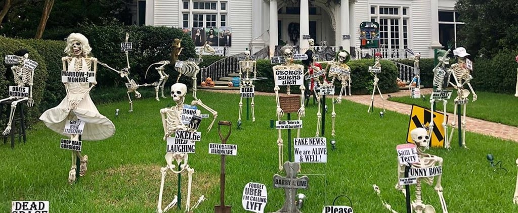 New Orleans Skeleton House on St. Charles Avenue Photos