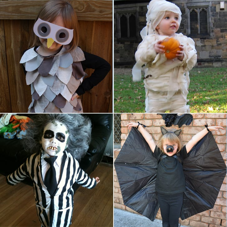 Diy Kids Halloween Costumes From Old Clothes Popsugar Family