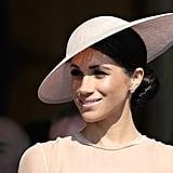 Meghan Markle First Bun After Royal Wedding