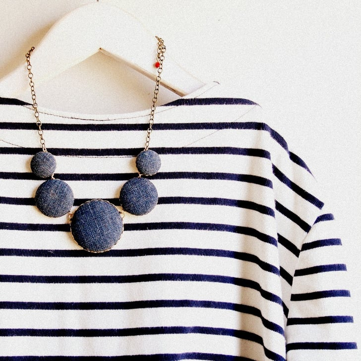 Denim statement necklaces 221 upcycling ideas that will for Statements that will blow your mind