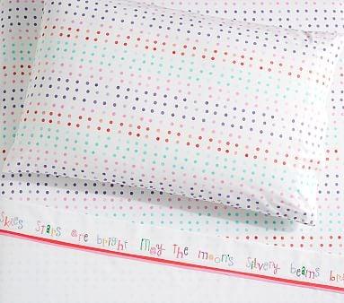 Organic Margherita Missoni Lullaby Cuff & Dot Sheet Set