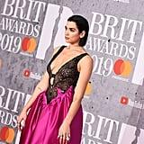 Dua Lipa's Christopher Kane Dress at the 2019 Brit Awards