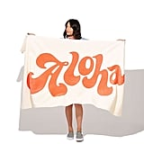 Beach, Please! Giant Towel — Aloha