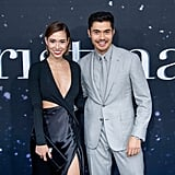 Liv Lo and Henry Golding at the Last Christmas Premiere