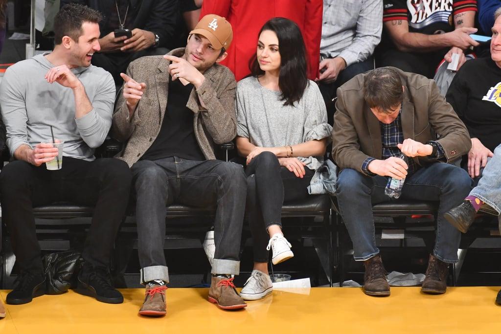 Kunis and kutcher dating games