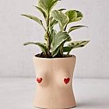 Boob Heart Tassel Planter