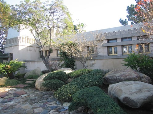 Coveted Crib:  The Hollyhock House