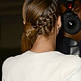 French-Braid Ponytail