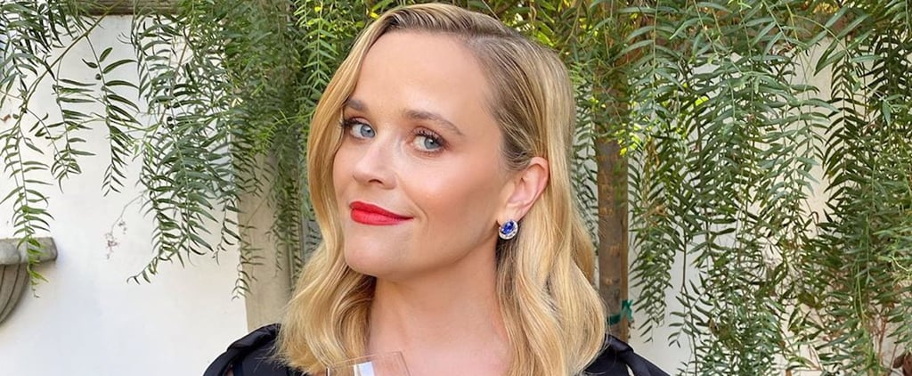 Reese Witherspoon Wears Slippers With Her Dress at the Emmys