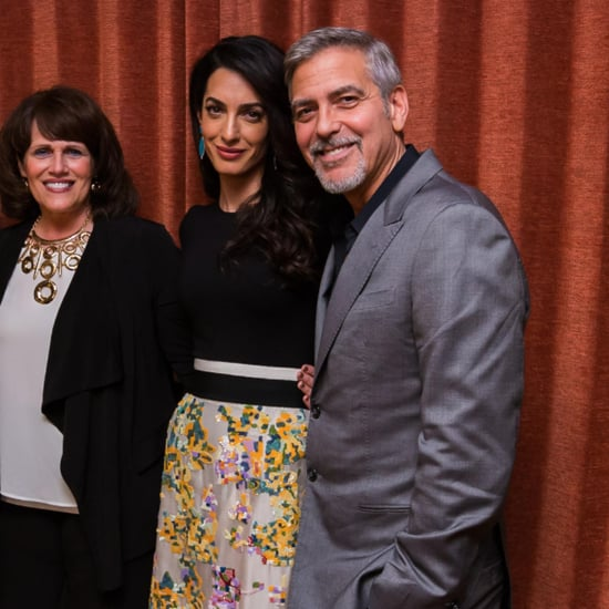 Amal Clooney's Dress at the Hillary Clinton Fundraiser