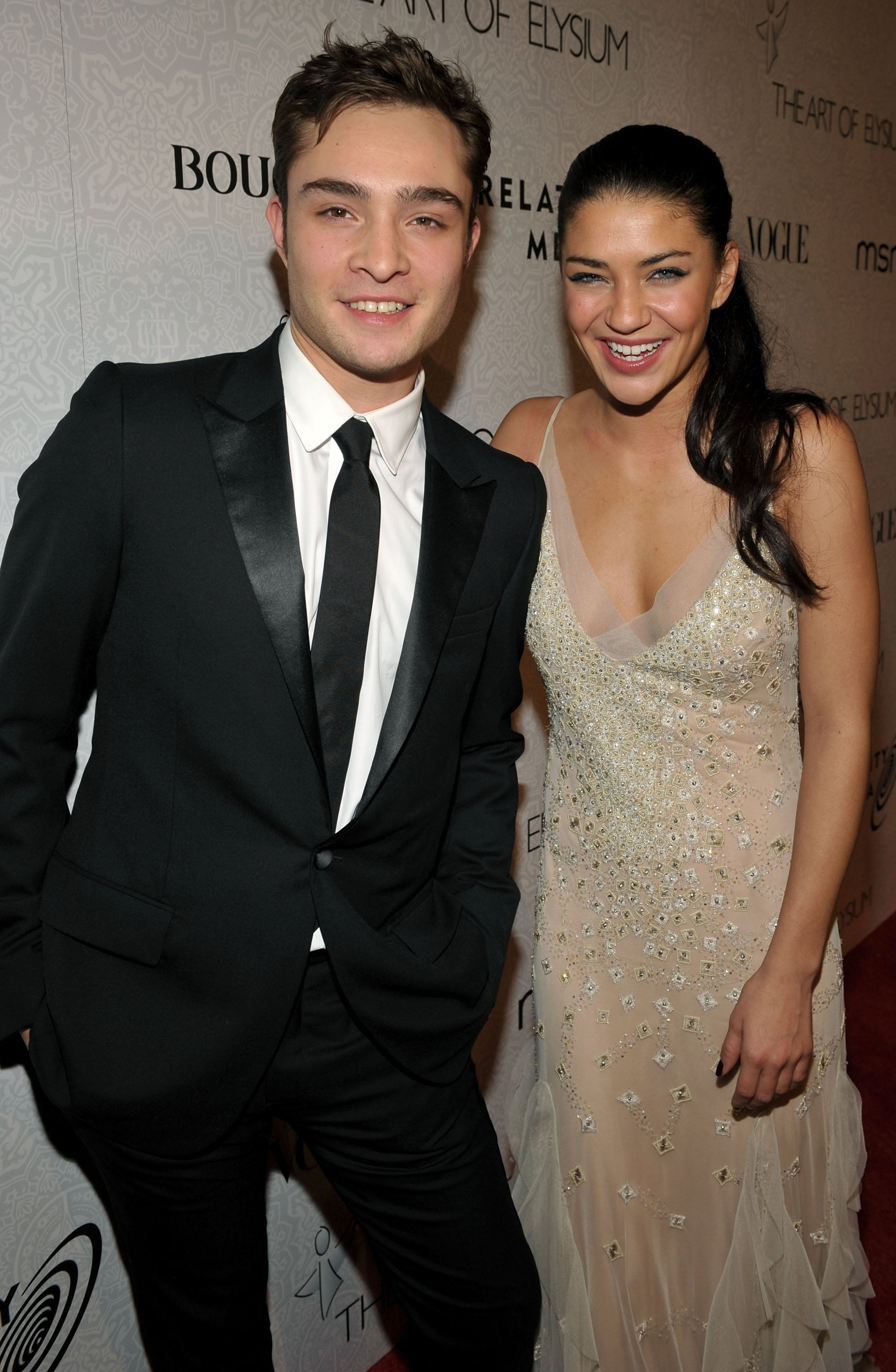 ed westwick and jessica szohr is there a tv costar