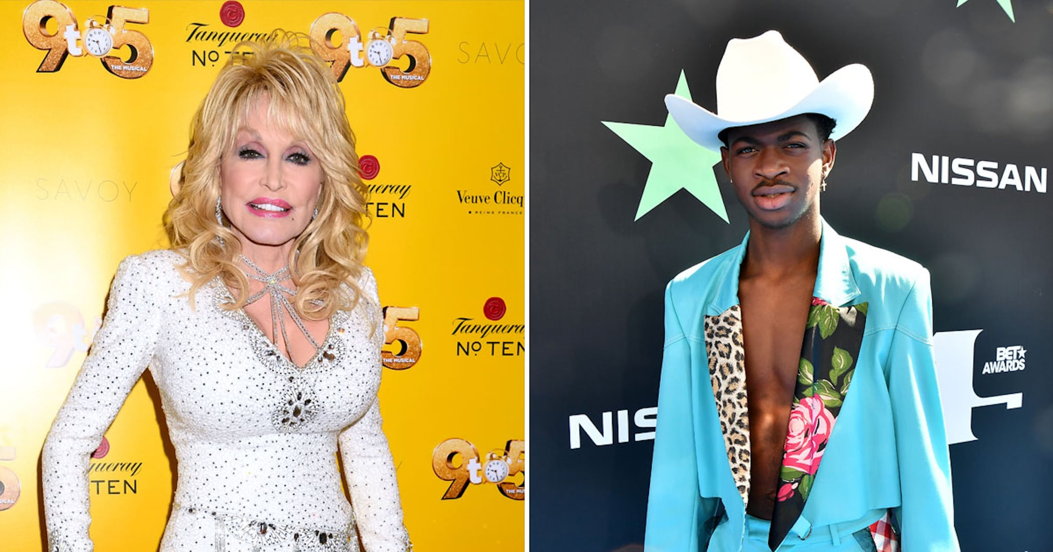 Dolly Parton Responds to Lil Nas X on Old Town Road Remix | POPSUGAR Entertainment UK