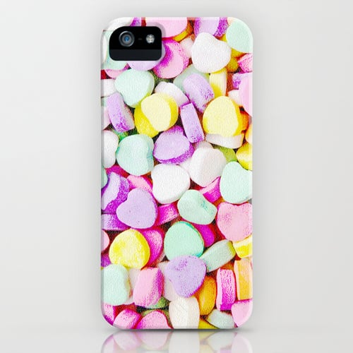 Candy heart case ($35) for iPhone models and Samsung Galaxy S4