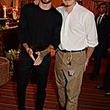 Liam Payne and Brooklyn Beckham