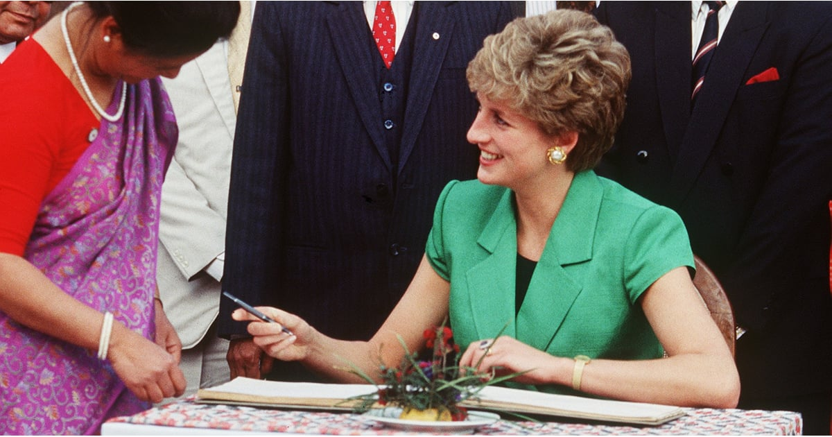 Princess Diana S Charity Work With Aids Popsugar Celebrity