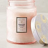 Voluspa Limited Edition Cut Glass Jar Candle