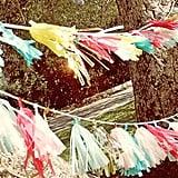 Fringed Tassel Banners