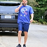 Ben Affleck and Lindsay Shookus Out in LA June 2018