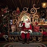 Disney California Adventure: Santa Claus at Redwood Creek Challenge Trail