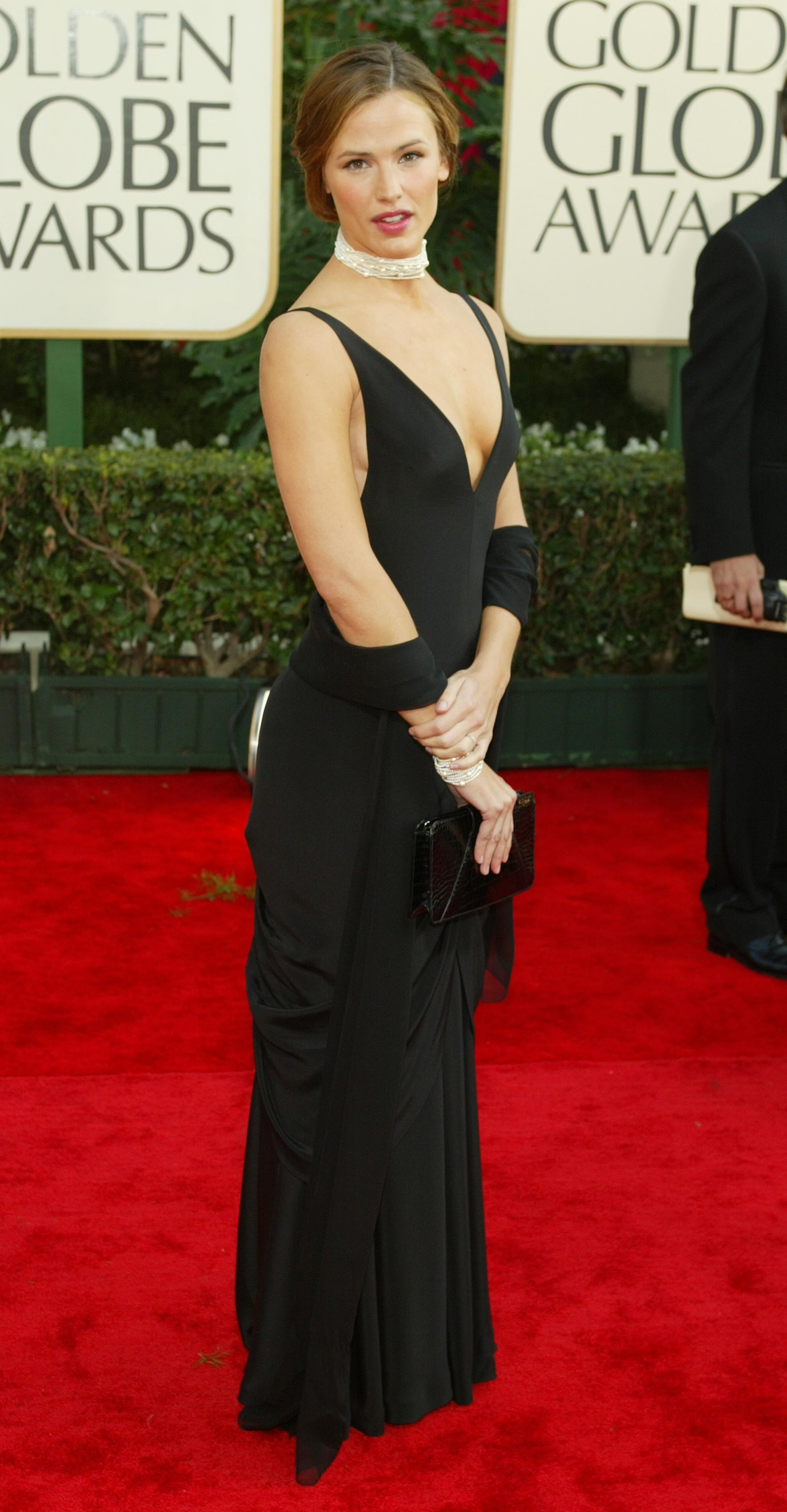 Jennifer Garner in Ralph Lauren in 2001.