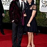 Dwayne Johnson and his daughter, Simone, made quite the pair at the Golden Globe Awards.