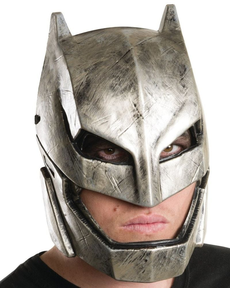 Dawn of Justice Armored Batman Silver Mask ($10)