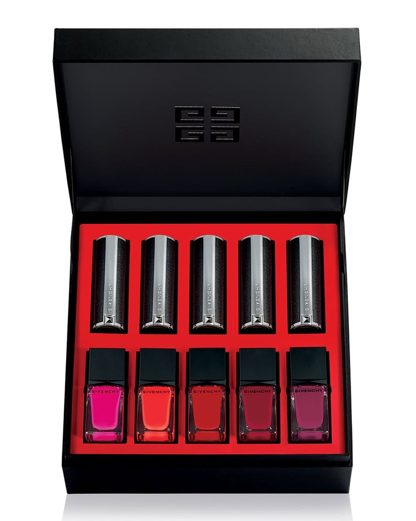 Givenchy Color Box Lipstick and Nail Polish Set, Red Collection
