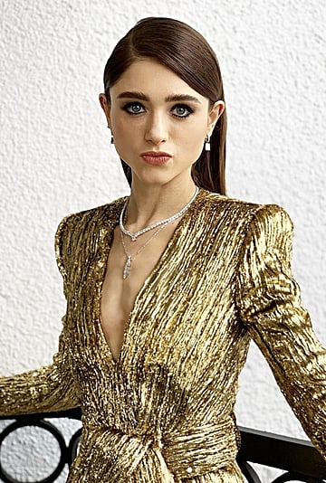 Natalia Dyer at the SAG Awards 2020 Makeup Pictures