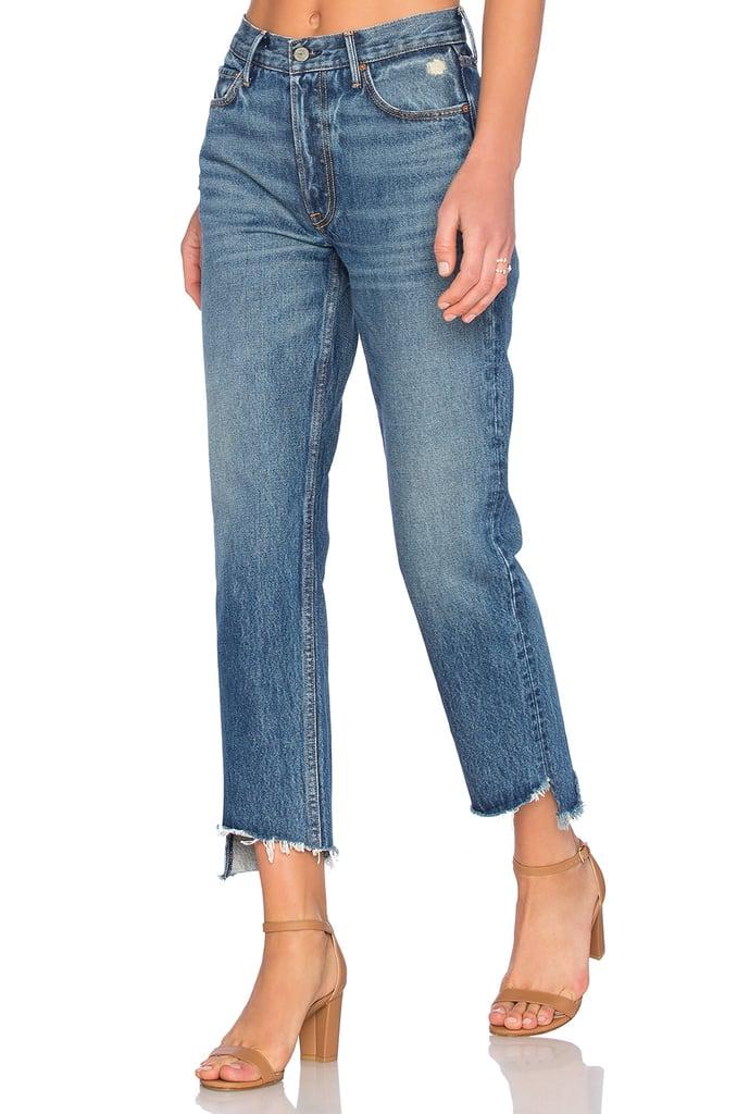 GRLFRND Straight Leg Jean