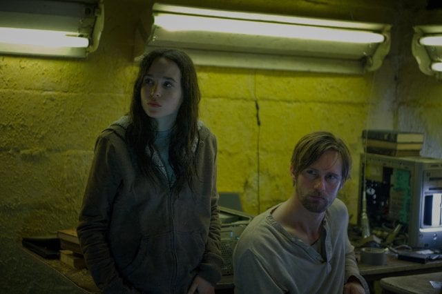 The East  Who's starring: Ellen Page, Alexander Skarsgard, and Brit Marling What it's about: A reporter (Marling) gets in too deep when she infiltrates an extremist eco-activist cult.  Why it made a splash: The thriller brought in positive reviews  at Sundance for its clever and intriguing plot.  When it opens: May 31 Watch the trailer for The East