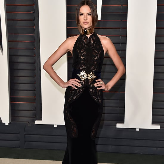 Alessandra Ambrosio at the Oscars Vanity Fair Party 2016