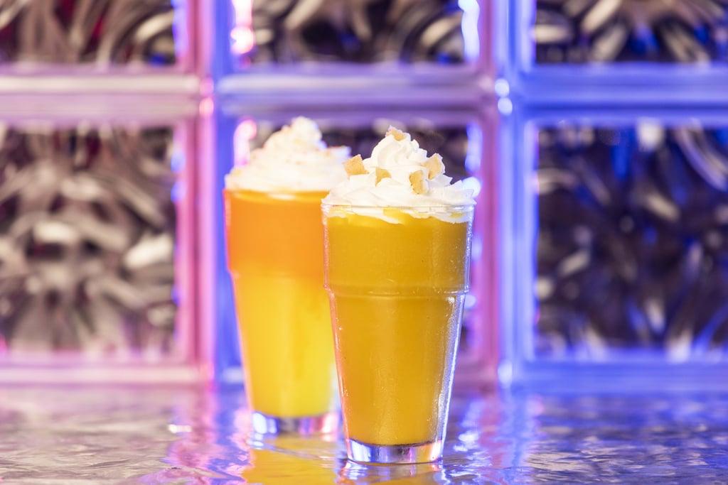 Universal Studios Halloween Jacque-O-Lantern Milkshake